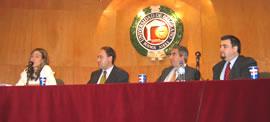 Mercedes Llano, Fernando Laborda, Gabriel C. Salvia y Ricardo López Göttig