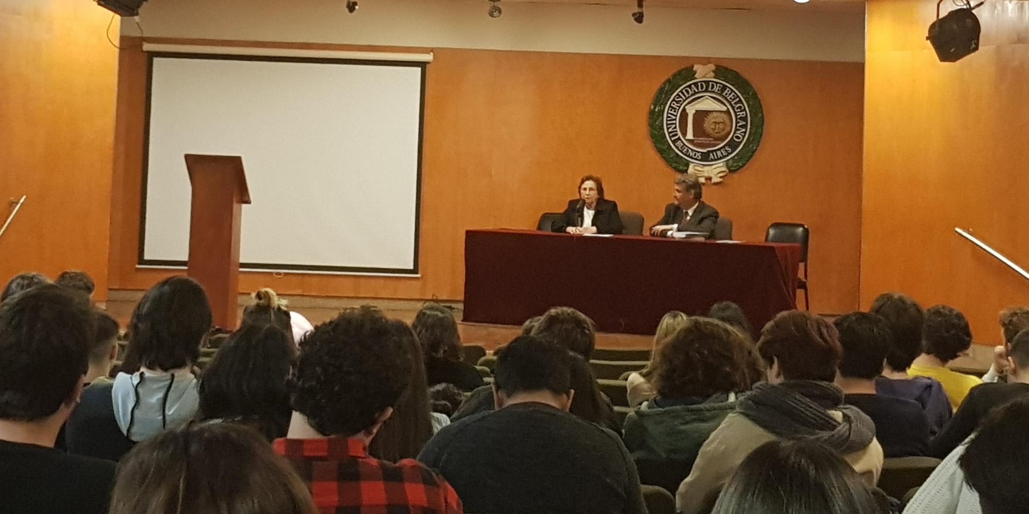 Presentación libro sobre antisemitismo en la Universidad de Belgrano