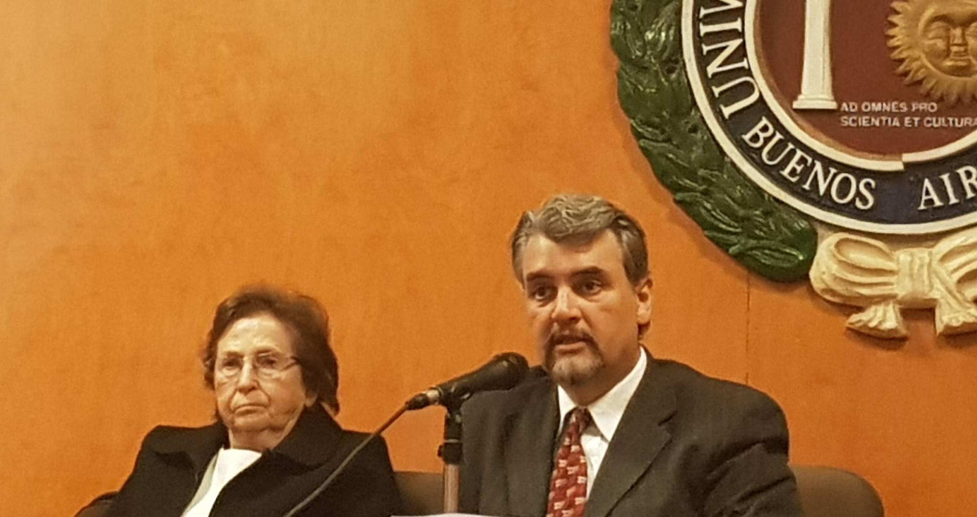 Ricardo López Göttig - Presentación libro sobre antisemitismo en la Universidad de Belgrano