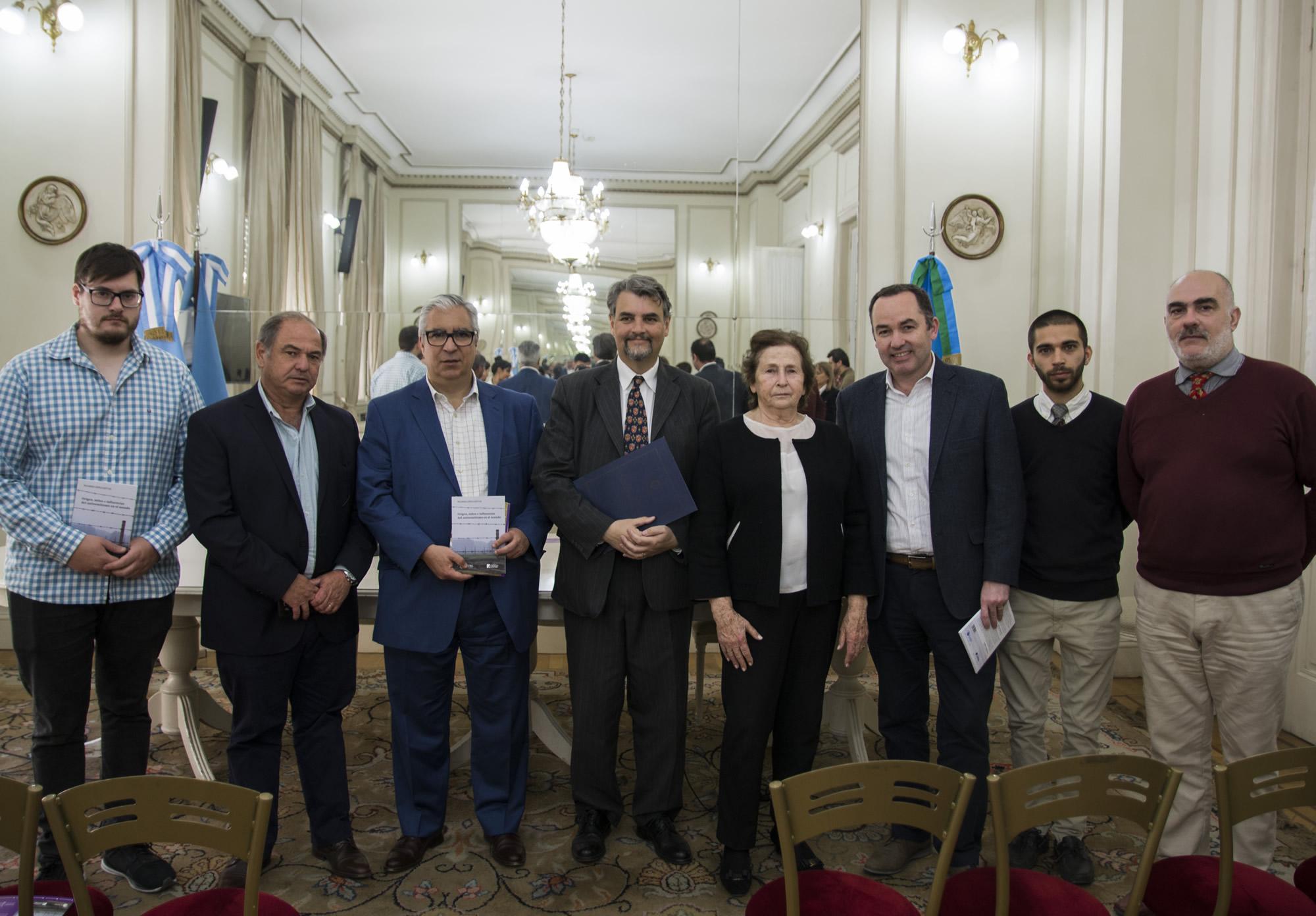 Presentación libro antisemitismo en Senado bonaerense