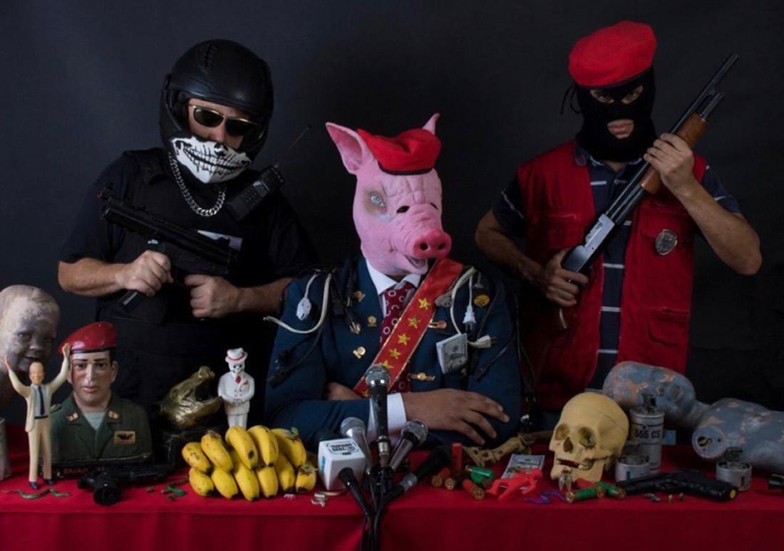 La cultura punk de Venezuela: incautada y detenida