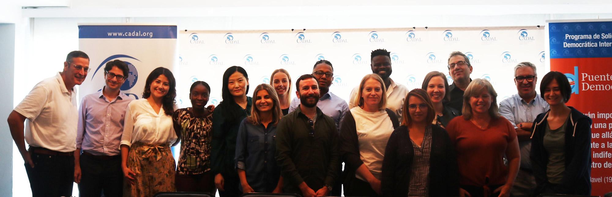 CADAL recibió al equipo administrativo de Human Rights Watch