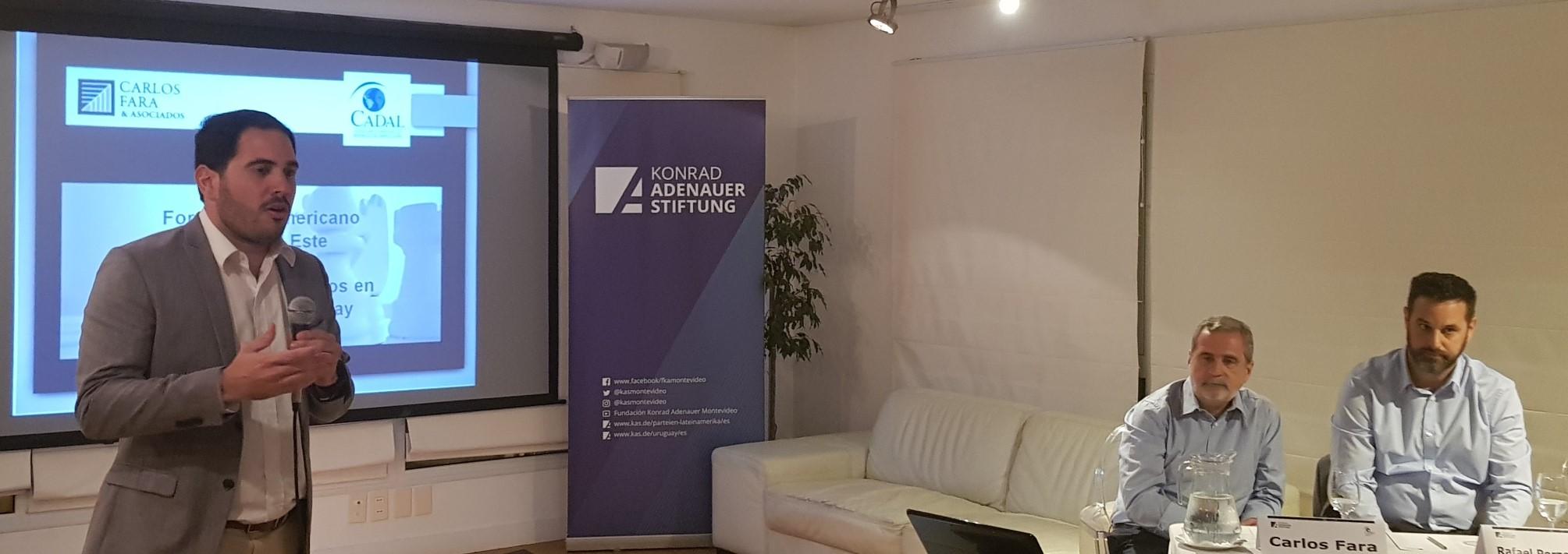 Ángel Arellano, Coordinador de Proyectos de la Fundación Konrad Adenauer en Uruguay
