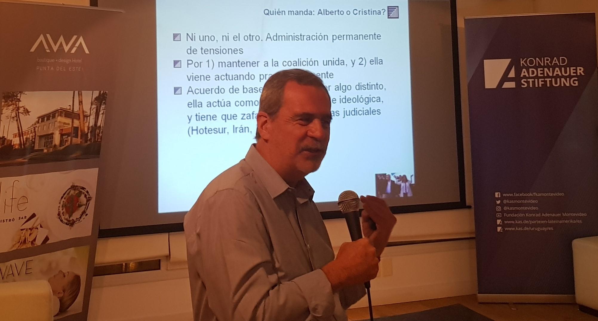 Carlos Fara, Vicepresidente de CADAL.