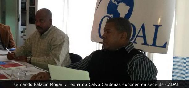 Fernando Palacio Mogar y Leonardo Calvo Cardenas exponen en sede de CADAL