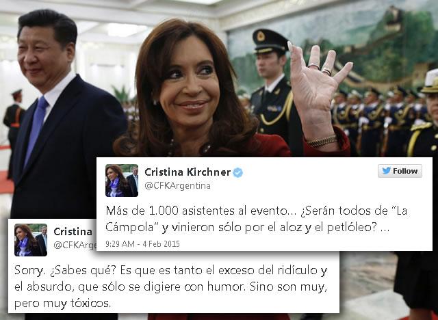 Xi Jinping junto a Cristina_Kirchner
