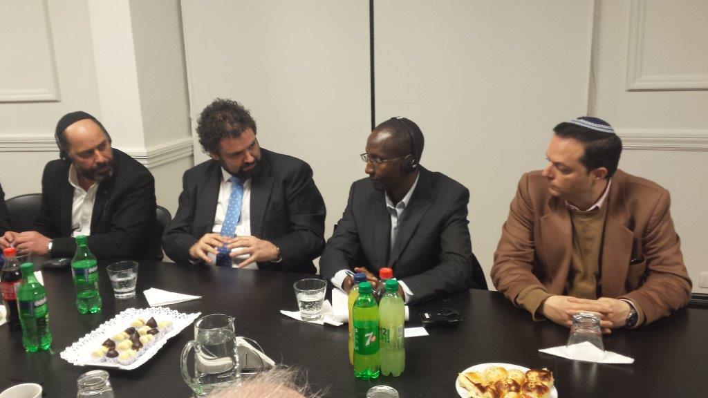 Encuentro con Relator Especial de la ONU