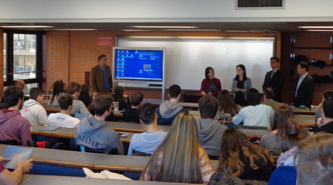 Presentación en Universidad de Belgrano de las violaciones a los derechos humanos en Corea del Norte