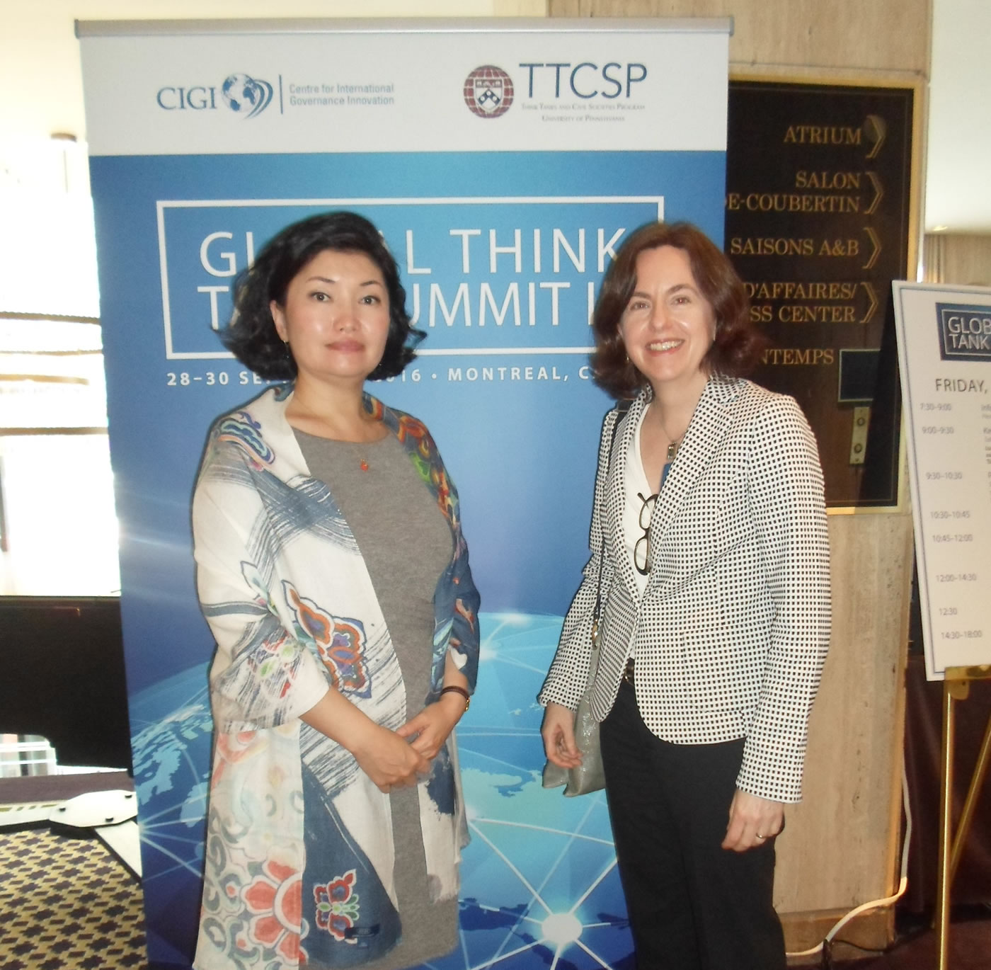 CADAL participó en Cumbre de Think Tanks en Montreal