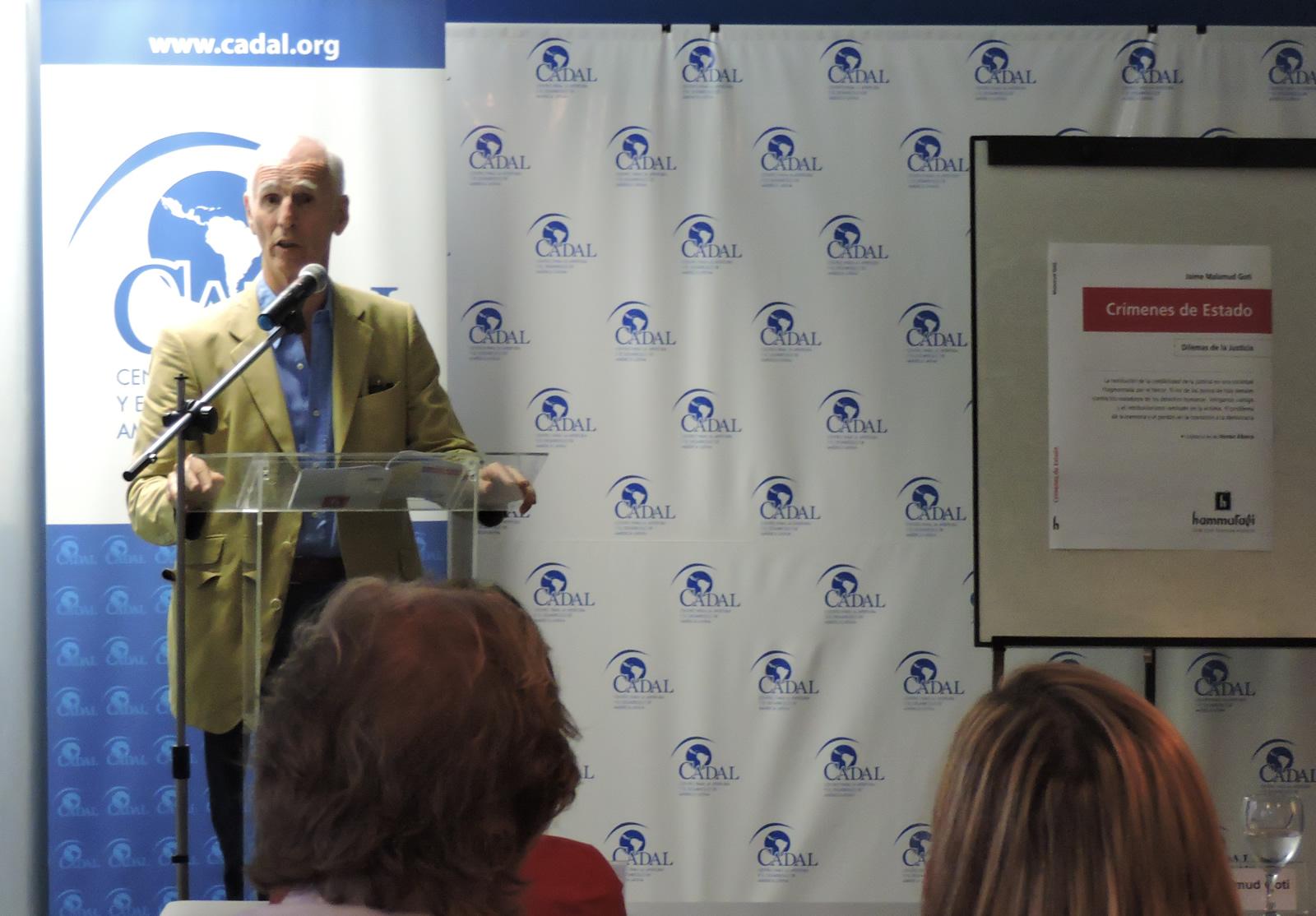 Presentación del libro:Crímenes de Estado, de Jaime Malamud Goiti