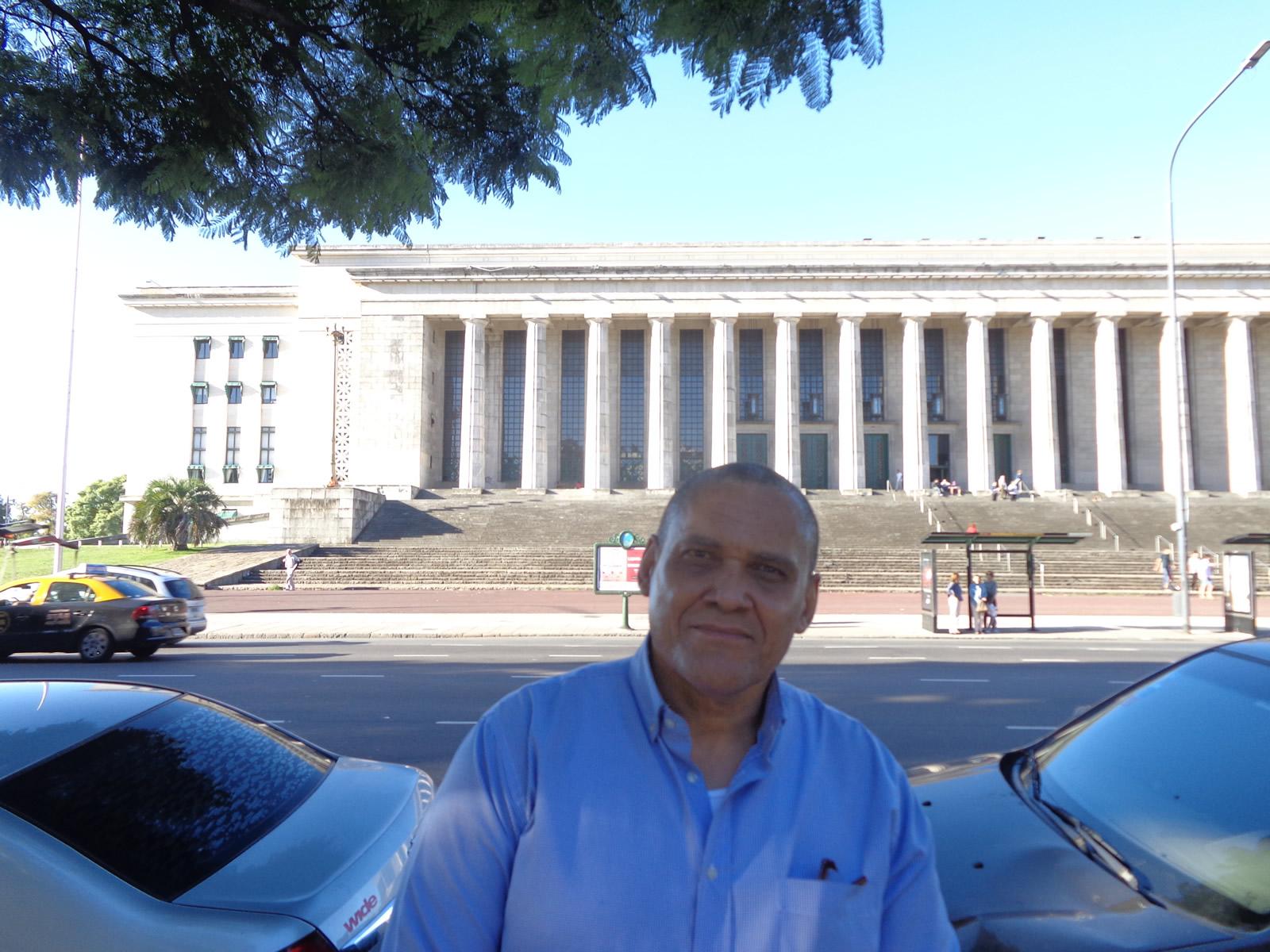 Visita de Jorge Olivera Castillo a CADAL - Buenos Aires