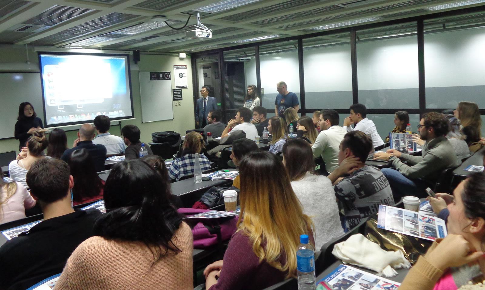 Presentación en la UADE sobre las violaciones a la libertad de expresión en Corea del Norte