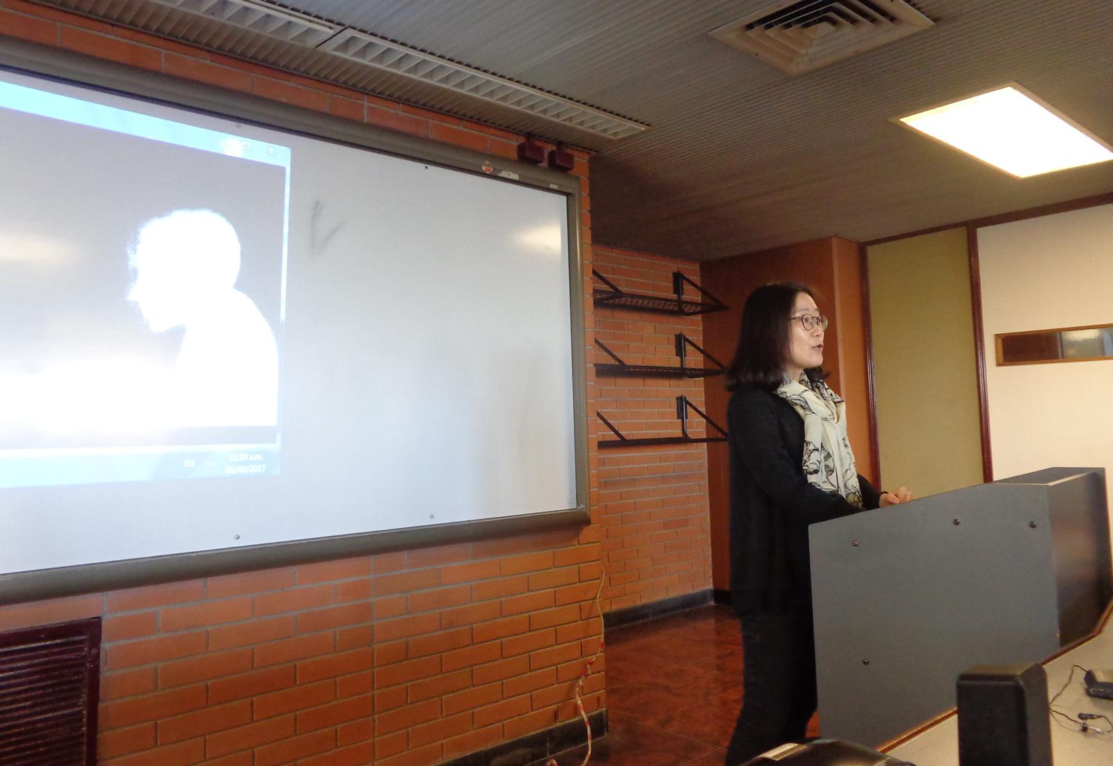 Presentación en la Universidad de Belgrano sobre la libertad de expresión y los DDHH en Corea del Norte