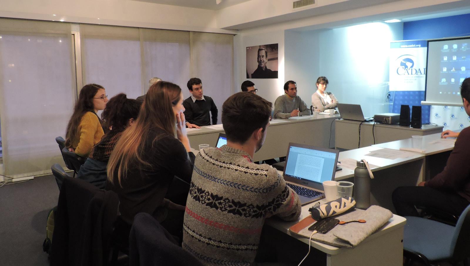 Reunión de voluntarios del Observatorio de Relaciones Internacionales y Derechos Humanos