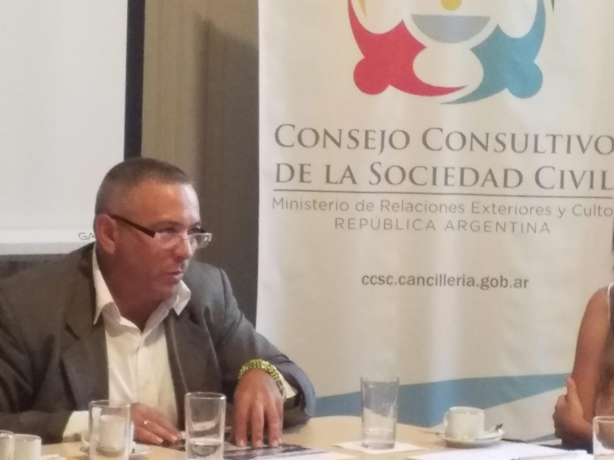 Reunión de la Comisión de Solidaridad Democrática Internacional