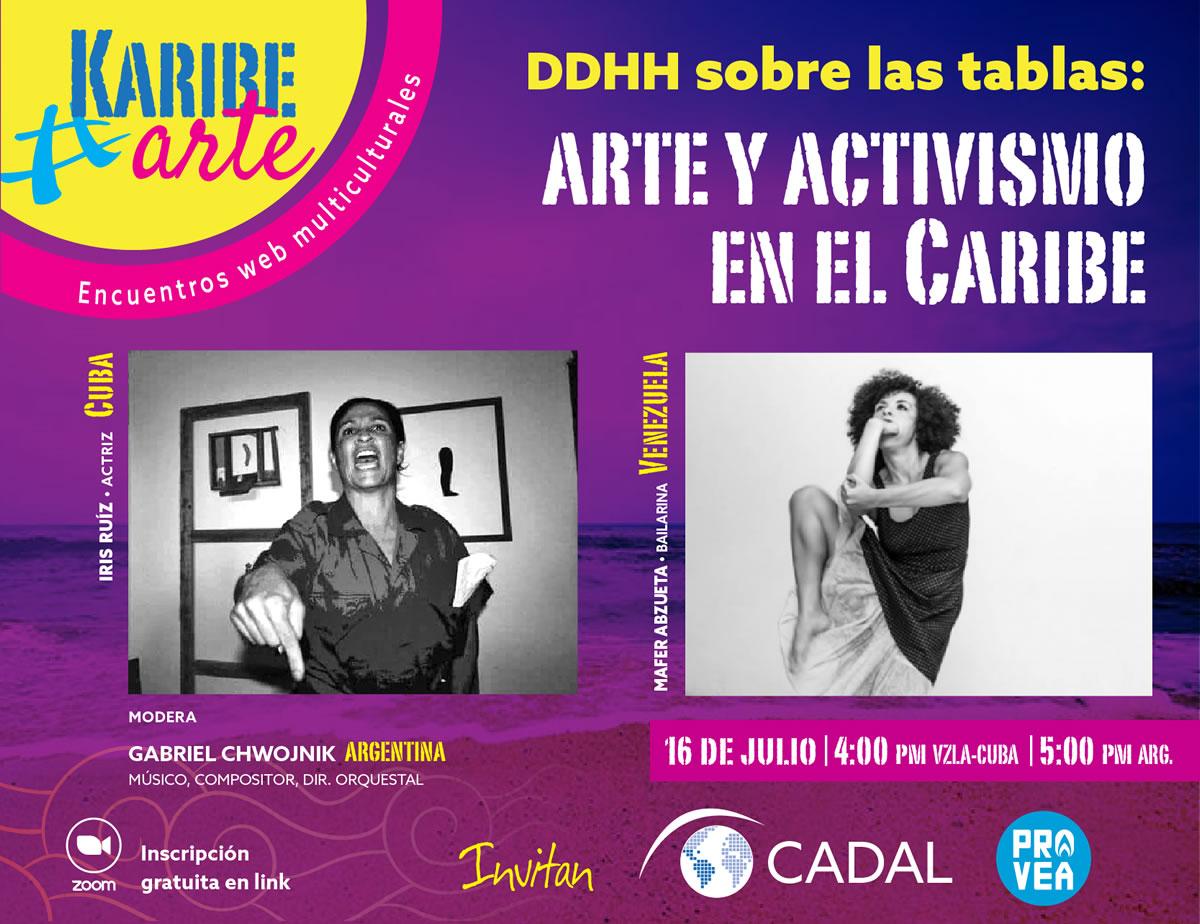 Arte y activismo en el Caribe