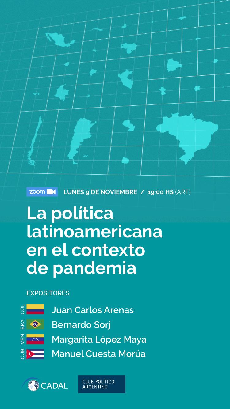 La política latinoamericana en el contexto de pandemia.