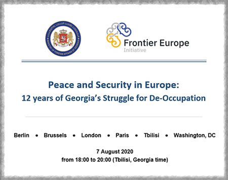 Peace and Security in Europe:  12 years of Georgia's Struggle for De-Occupation
