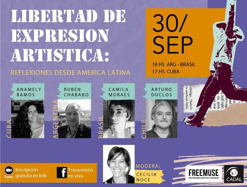 Libertad de expresión artística: Reflexioines desde América Latina
