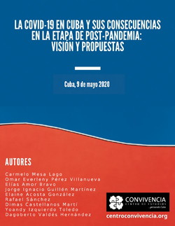 La COVID19 en Cuba y sus consecuencias en la etapa de post-pandemia: visión y propuestas
