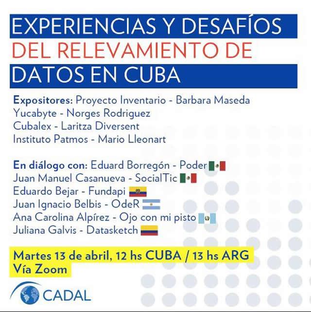 Experiencias y desafíos del relevamiento de datos en Cuba