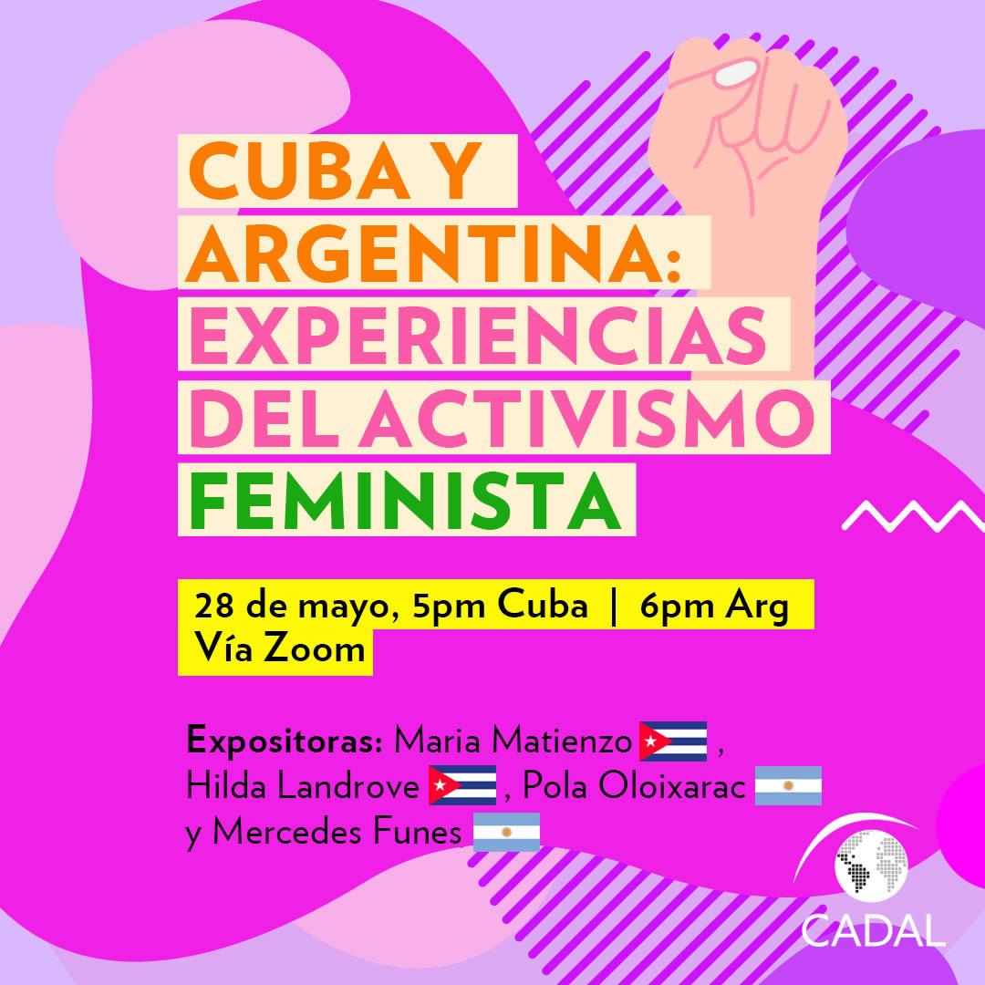 Cuba y Argentina: Experiencias del activismo feminista