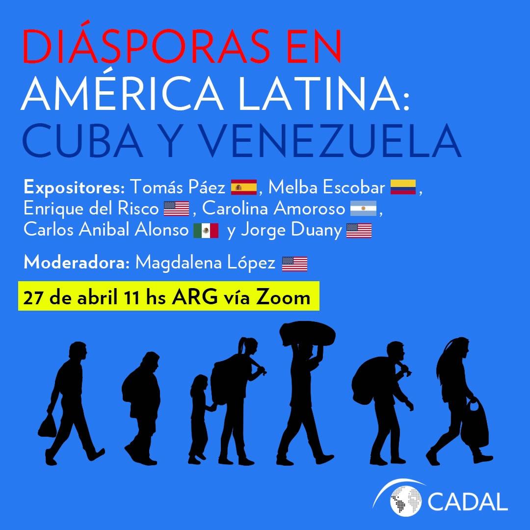 Diásporas Cuba y Venezuela