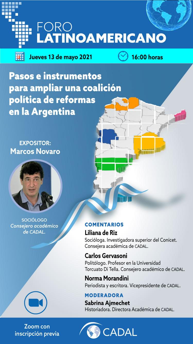Pasos e instrumentos para ampliar una coalición política de reformas en la Argentina