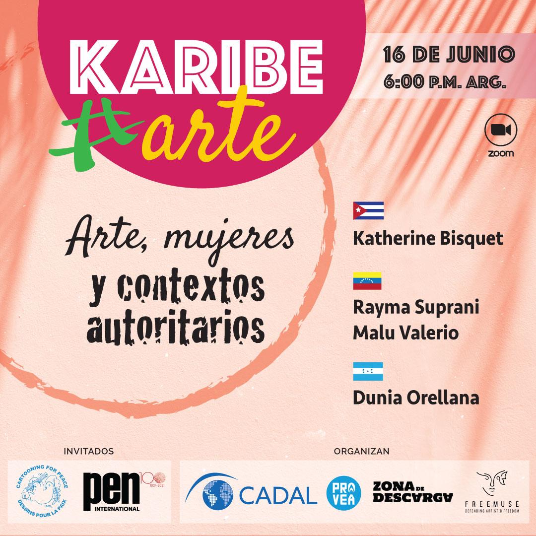 Primer encuentro KaribeArte 2021: Arte, mujeres y contextos autoritarios