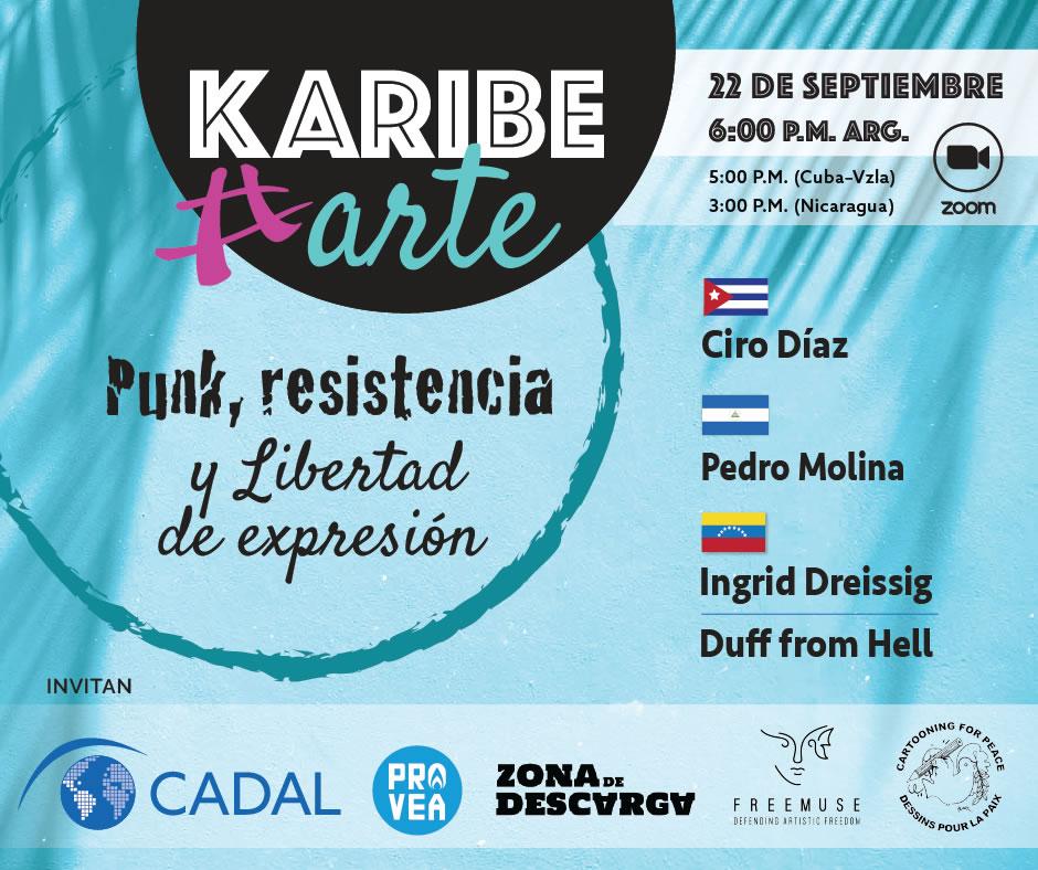 KaribeArte 2021, cuarto encuentro: Punk, resistencia y libertad de expresión
