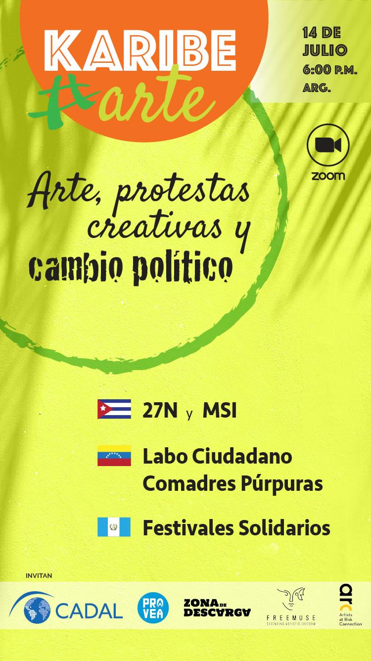 Segundo encuentro KaribeArte: Arte, protestas creativas y cambio político