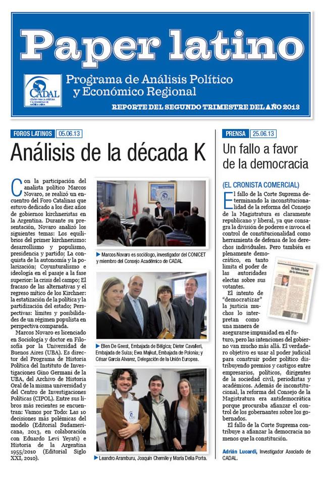 Paper Latino  1 - 2013