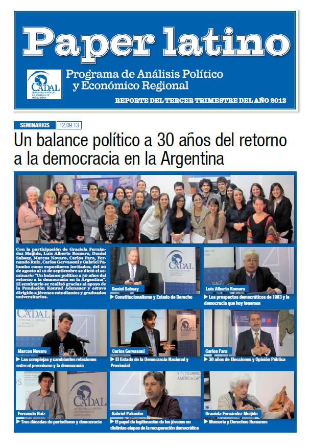 Paper Latino  3 - 2013