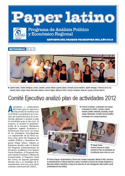 Paper Latino  2012