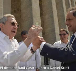 Interrogantes del viaje de Daniel Scioli a Cuba
