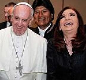 �Francisco se dej� usar en el raid anticapitalista de CFK?