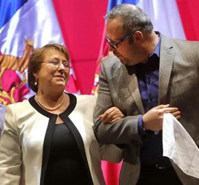 Mal blindaje de Bachelet