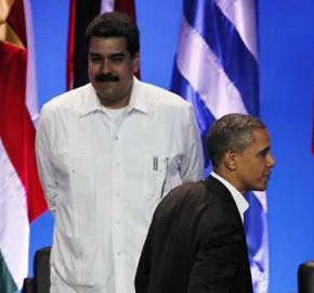Estados Unidos, Cuba y Venezuela