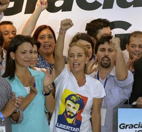 La transici�n apenas comienza en Venezuela